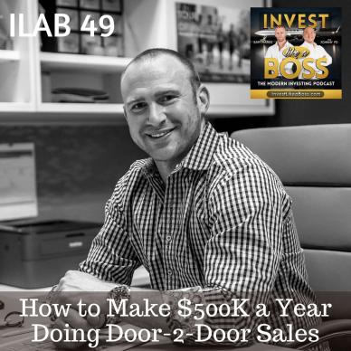 Door-2-Door Sales, Sales, Salesman, Cold Calling, Fundrise, Vivint, commission sales, $500k a year salary